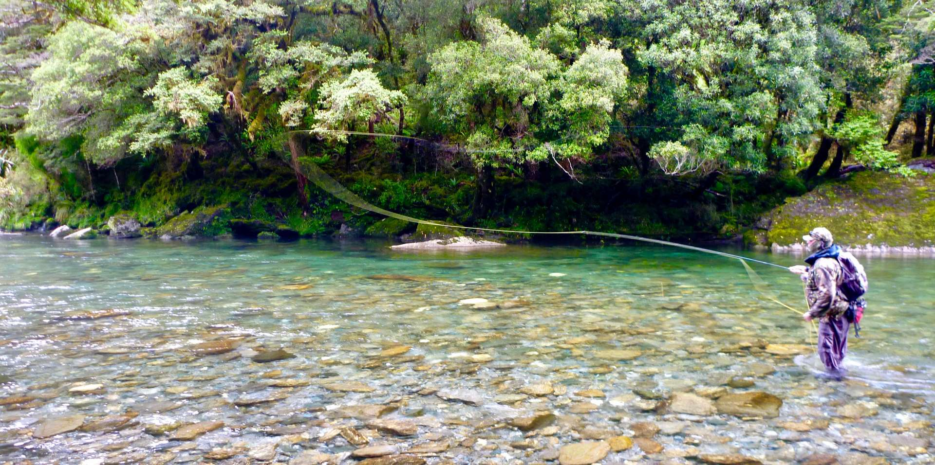 Fly Fishing NZ Clear Rivers
