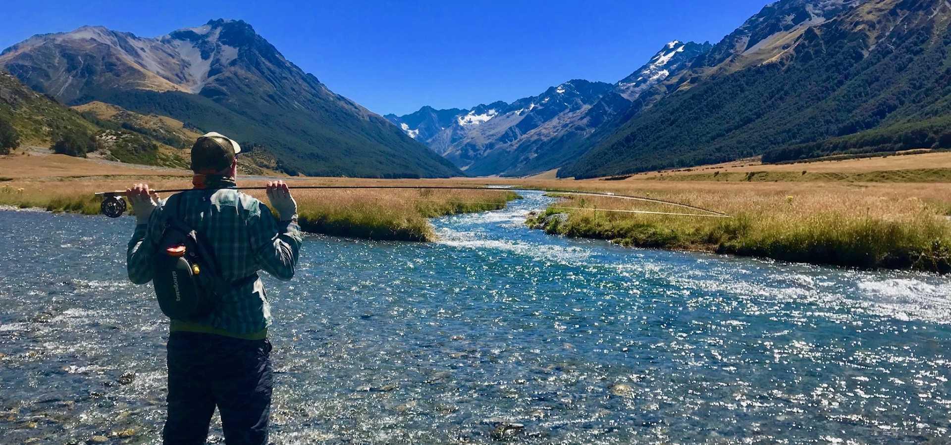 Fly Fishing Trips New Zealand