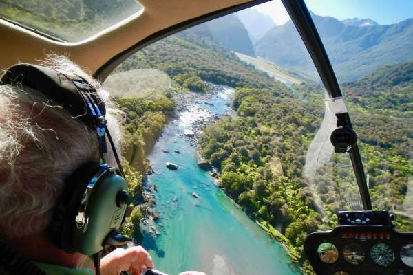 Guided Heli Fly Fishing