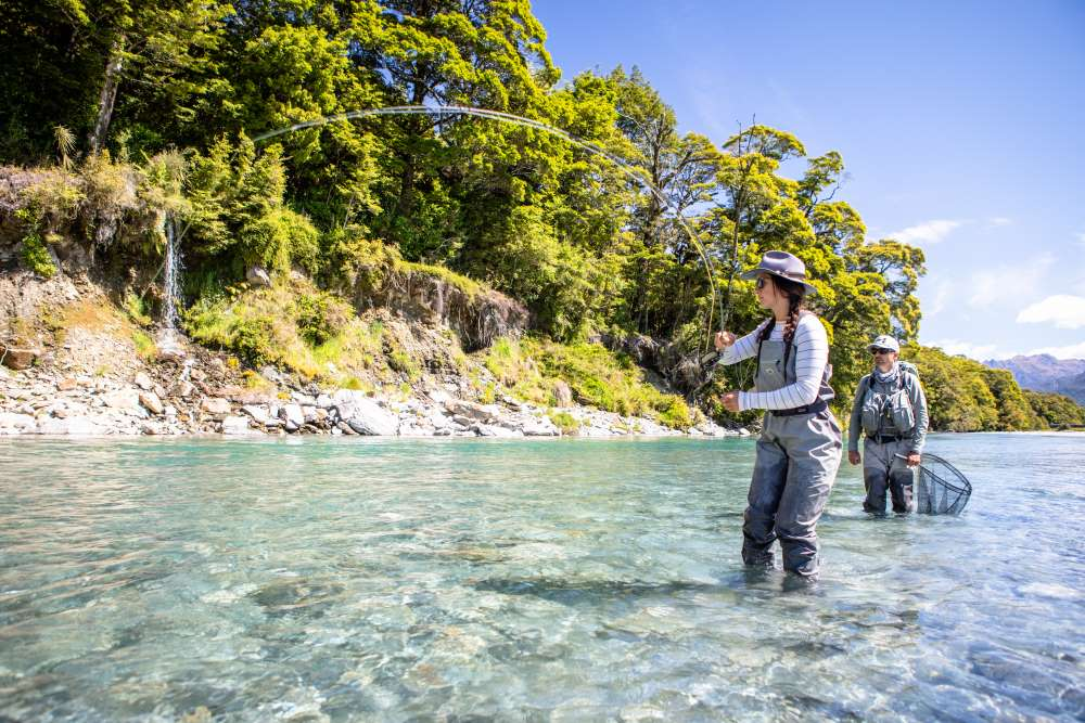 Women's fly fishing adventure
