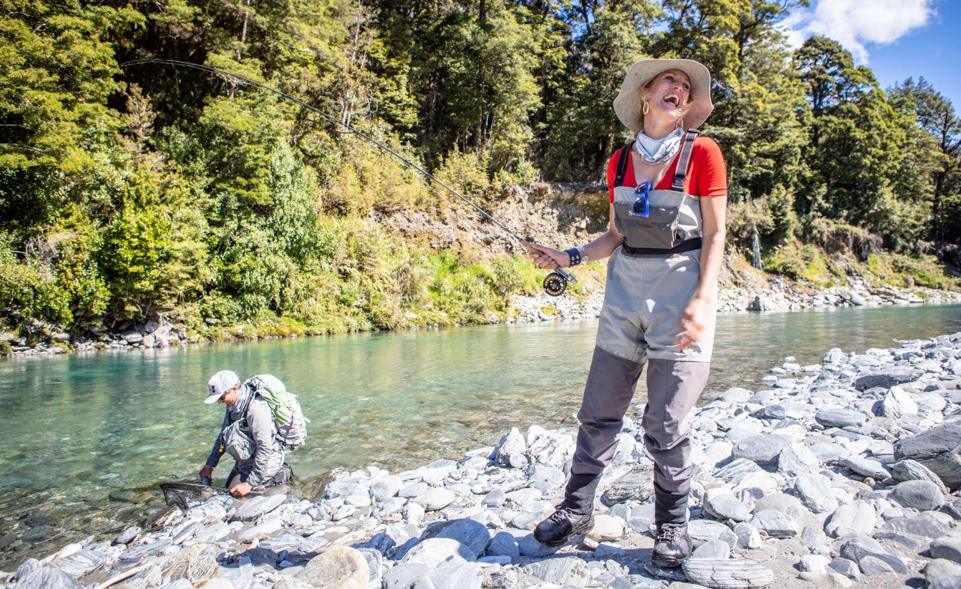 Women's fly fishing adventure
